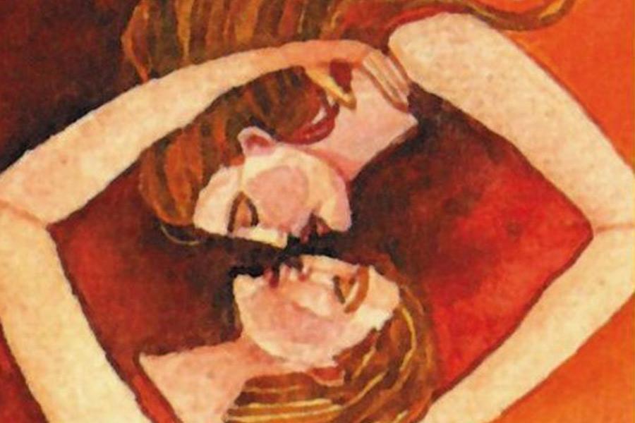 tantrische seks - illustratie